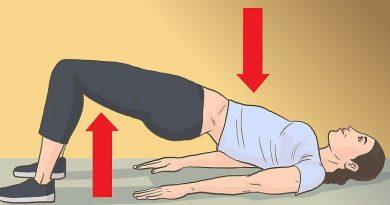 4 pratimai kojoms ir sėdmenims, kuriuos galima daryti namuose (kai kuriuos tiesiog ant sofos)